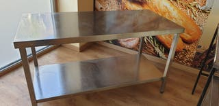 mesa de acero