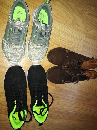 Zapatillas Casual y Zapatos vestir