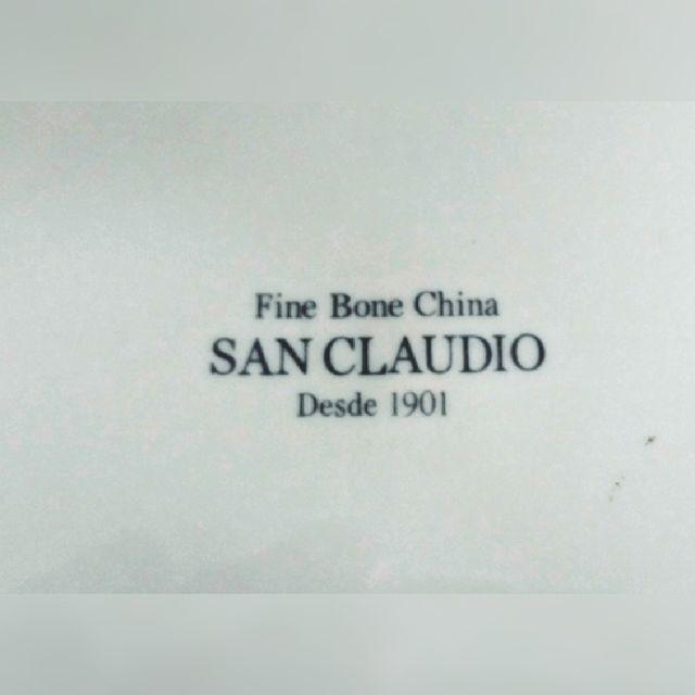 Vajilla 80 piezas El Corte Inglés de San Claudio