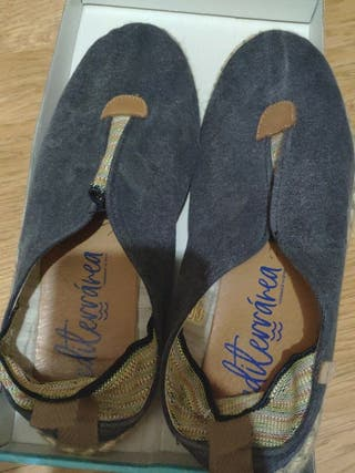 Zapatillas azules 38