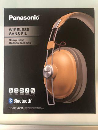 Auriculares vintage Bluetooth Panasonic RP-HTX80B