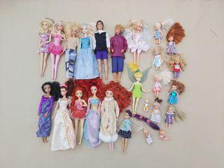 Super Lote muñecas barbie caravana 200 accesorios