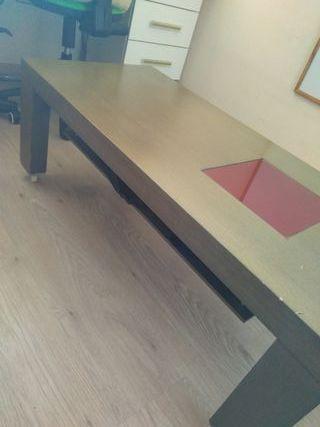 Mesa articulada auxiliar de comedor