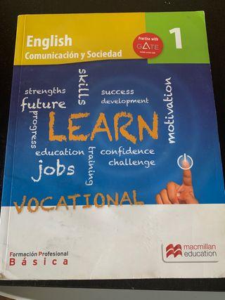 Libro de inglés de formación profesional basica