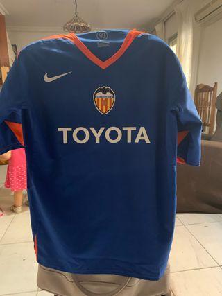 Camiseta valencia fútbol