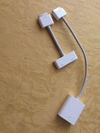 Adaptadores de iphone y Ipad