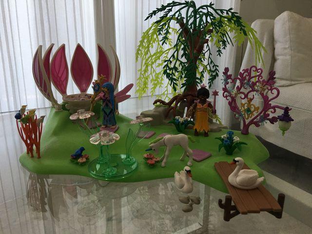 Playmobil Isla de Las Hadas con Fuente 5444 NUEVO