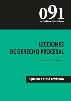 Lecciones de Derecho Procesal