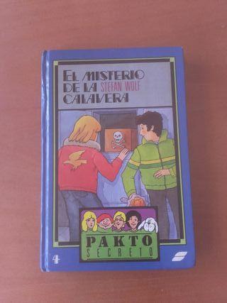 Libro El Misterio de la Calavera Pakto Secreto