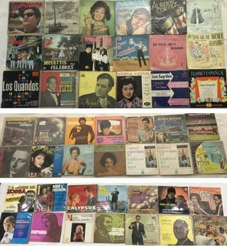 47 SINGLES VINILO - MÚSICA AÑOS 60 Y 70