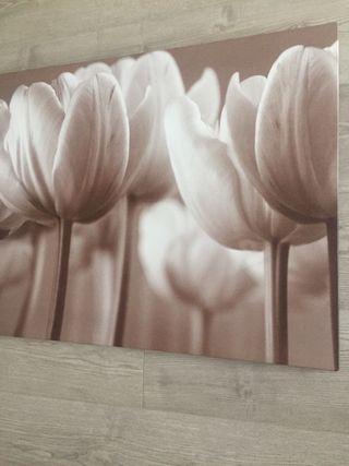 Cuadro tulipanes 139x56 IKEA