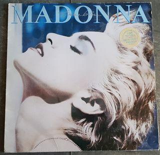 Madonna True Blue 1986 LP Vinilo