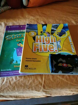 libros 3º y 4º de primaria