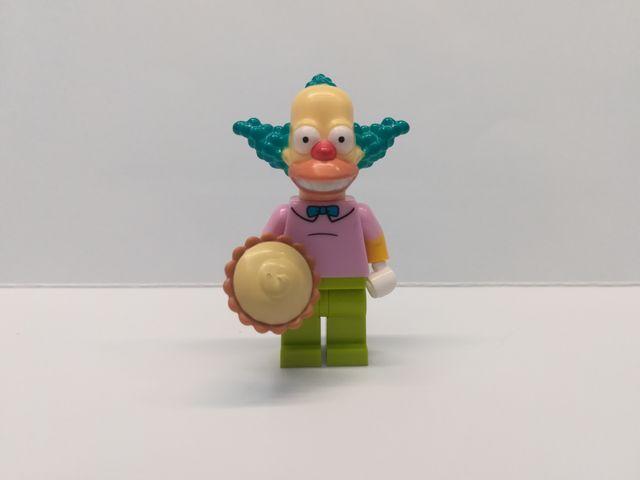 Lego minifigura serie 1 Simpson Krusty el Payaso