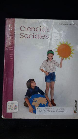 CIENCIAS SOCIALES 5º PRIMARIA SANTILLANA