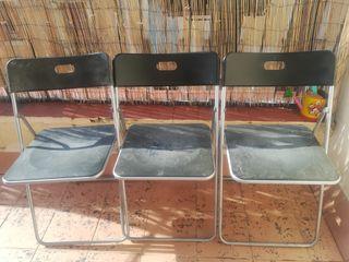 Pack de tres sillas Ikea