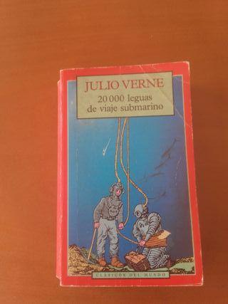 Libro 20000 Leguas de Viaje Submarino