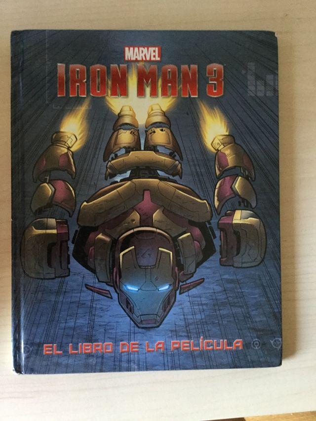 Ironman 3. El libro de la película