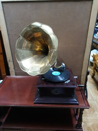 gramófono en perfecto estado