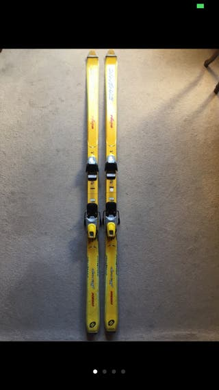 Esquís clásicos mujer o niño
