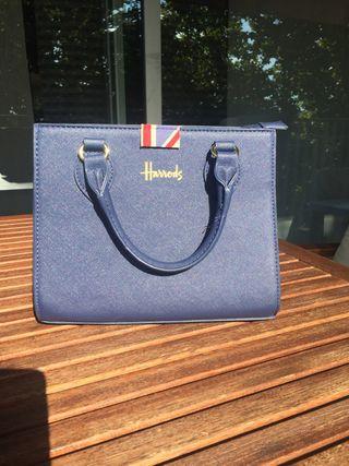Bolso azul Harrods (rebajado)