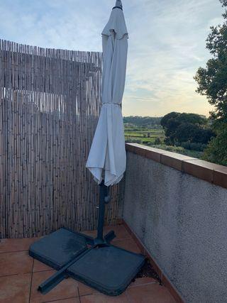 Parasol jardín/terraza