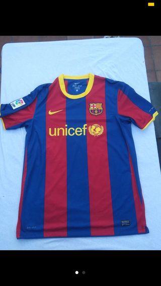 Camiseta firmada Messi