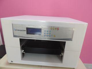 Impresora Textil directa con tinta blanca tamañoA3