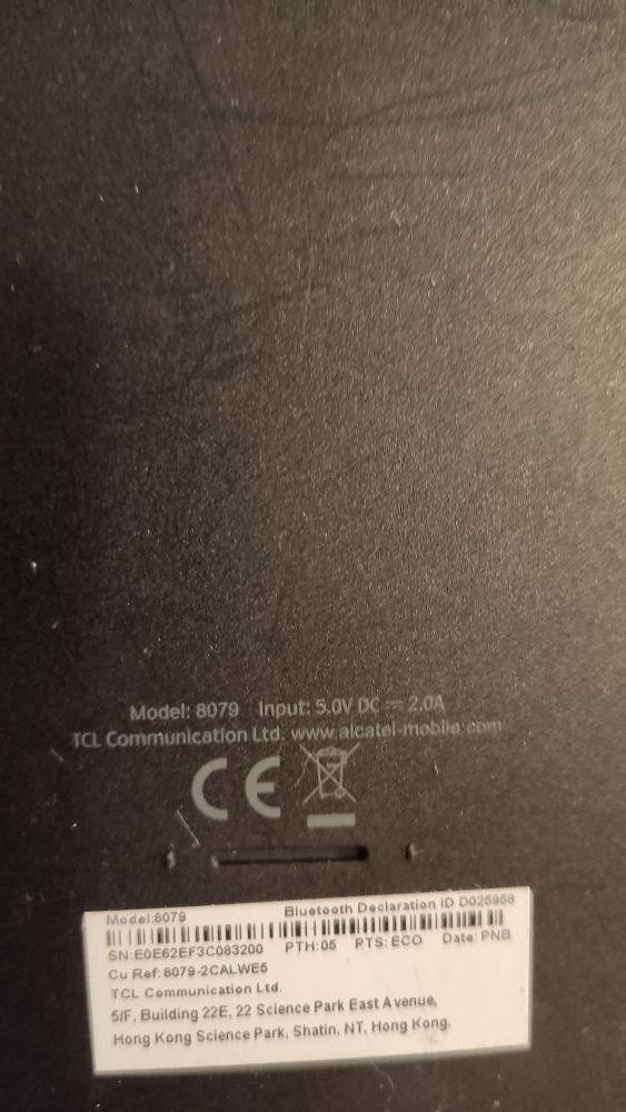 Tablet Alcatel A3 - 10.1 pulgadas 1Gb/16gb