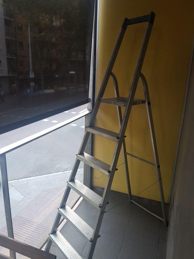 escalera aluminio 6 Escalones.
