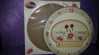 Reloj de pared Mickey Mouse