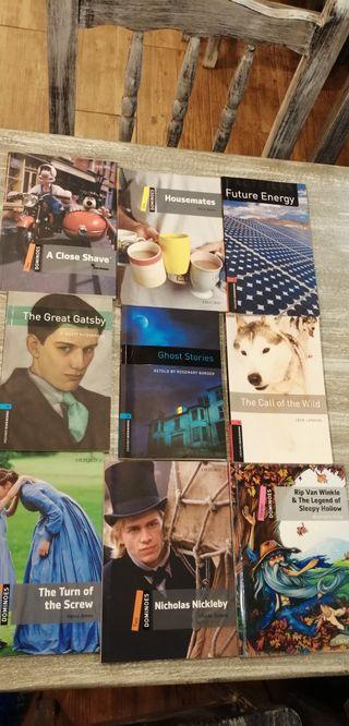 Libros de lectura Inglés A1 A2 B1 B2 y C1