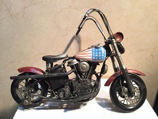 Miniatura Harley Davidson metal a mano