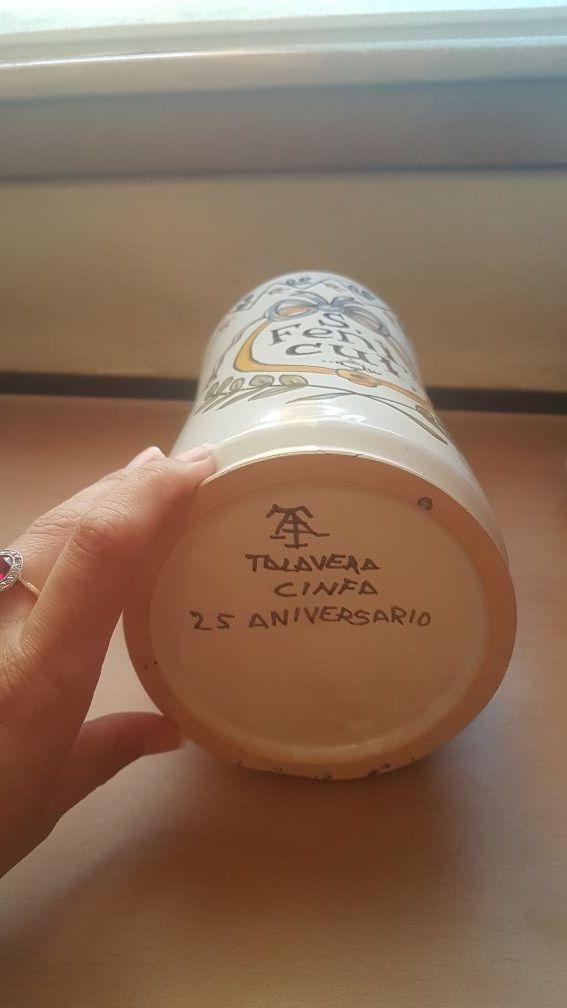 2 albarelos tarros botes de farmacia Talavera loza