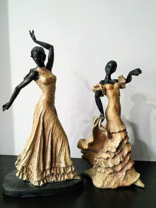 Figuras de flamenca