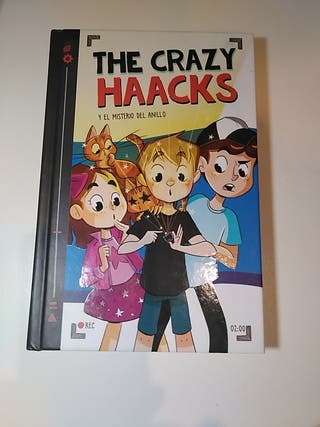 Libro The Crazy Haacks volumen 2. PERFECTO estado