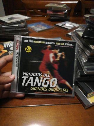 grandes orquestas virtuosos del tango lleva 2 cd