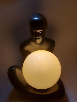 Preciosa lamparita de cerámica