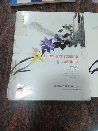 Libro de Lengua Castellana y Literatura 1° de la E