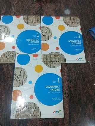 libro 1°de la ESO Geografía i Historia