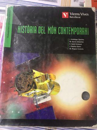 Libro historia del món contemporani