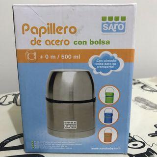 Papillero térmico con funda
