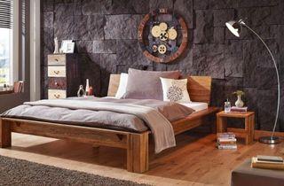 Estructura Cama madera cabecero somier
