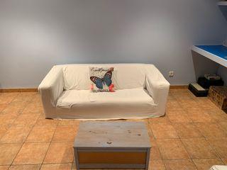 Vendo dos sofas blancos