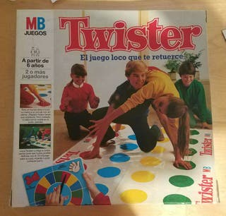 Twister juego años 80