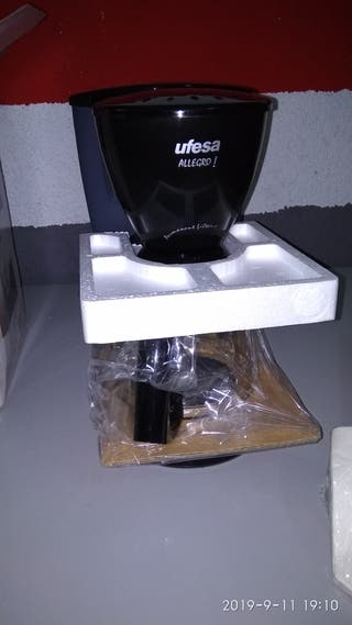 Cafetera ufesa allegro