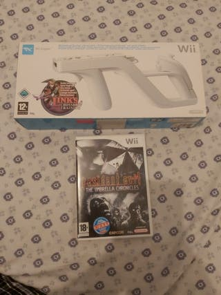 Resident Evil The Umbrella Chronicles + Wii Zapper