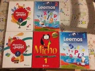 Libros de texto infantil y primaria