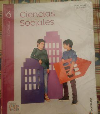 libro ciencias sociales 6 primaria