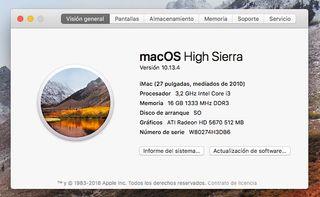 Apple iMac 27'', 16Gb RAM, 1Tb HDD